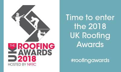 Enter the UK Roofing Awards 2018