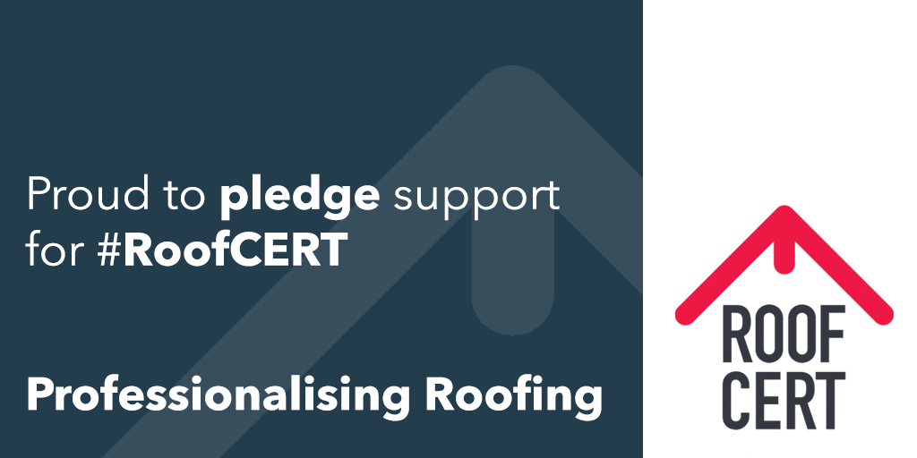 RoofCert Pledge Your Support