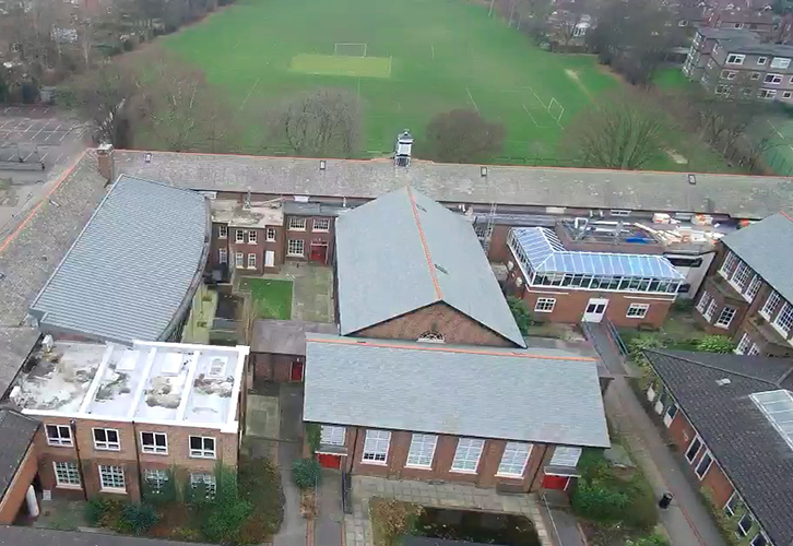 Large Scale Urmston Grammar