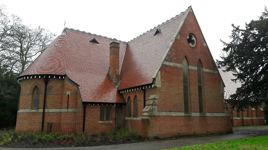 Tiling Fair Mile Chapel