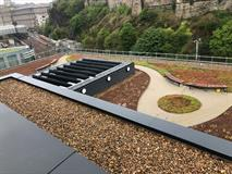 Bituminous Hot Applied Liquid Waterproofing - New Waverley Station Phase 2 - SPS Flat Roof Systems