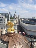 Fully Supported Metal - Copper Dome Ludgate House - Full Metal Jacket