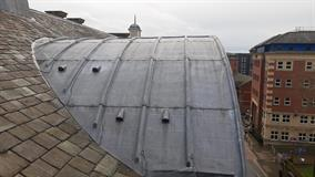 Large project - Heartspace University Sheffield - Protech Roofing