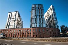Rainscreen - Paradise Street Student Accommodation - Longworth Building Services