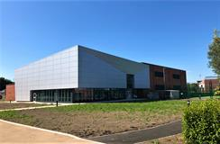 Rainscreen - Physical and Recreational Training Facility - Malone Roofing (Newbury)