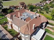 Roof Tiling - Former Harpenden House Hotel - Contour Roofing (Essex)