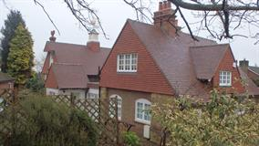 Roof Tiling - Green Cottage - Richard Soan Roofing Services
