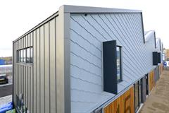 Sheeting + Cladding - Lady Bee Enterprise Centre - Kingsley Specialist Roofing