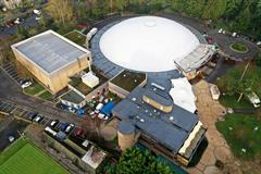 Single Ply Roofing - Bells Sports Centre  - AIM Developments
