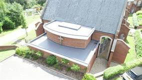 Small scale project - Holy Cross Priory - Invictus Roofing