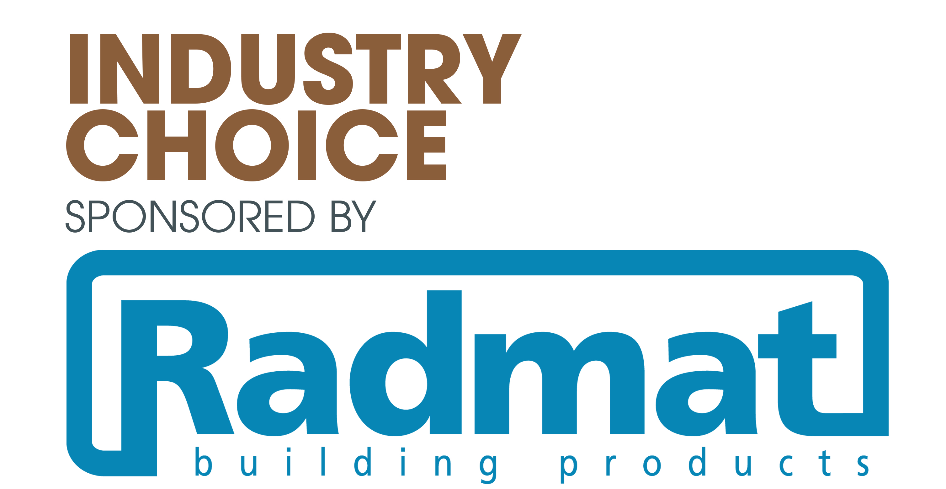Industry Choice Award sponsored by Radmat