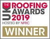 UK Roofing Awards 2019 Winner