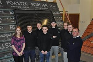 Apprentices in Forster Skills Academy with HR Administrator