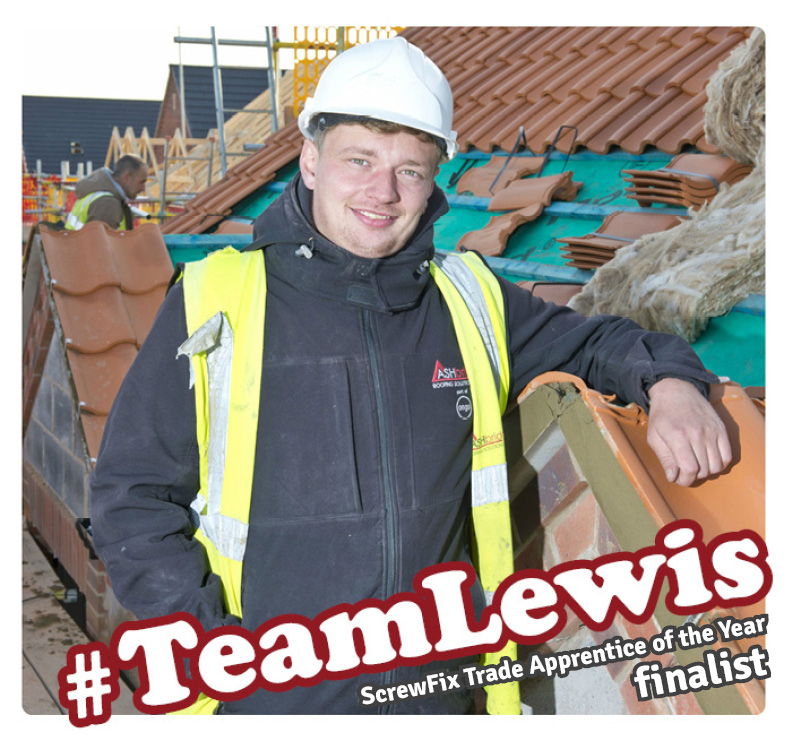 TeamLewis - ScrewFix Trade Apprentice of the year 2018