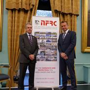 NFRC CEO James Talman and Jon Vanstone