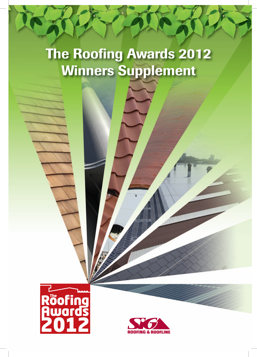 Front Cover of Roofing Awards Post Supplement