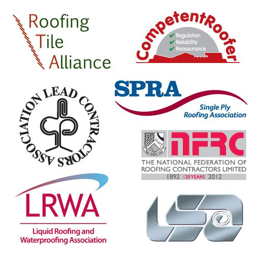 Roofing Awards 2012 Hosts logos